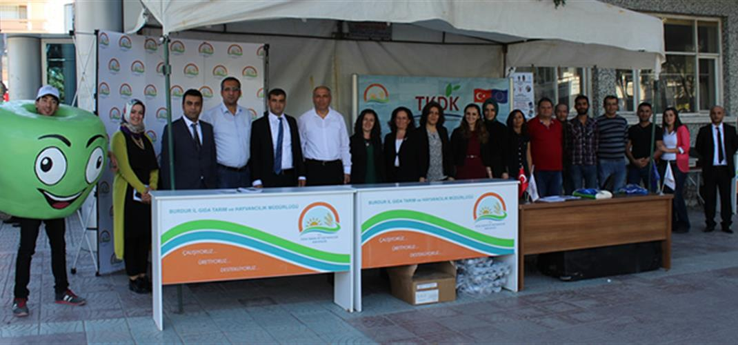 World Food Day is Celebrated in Burdur